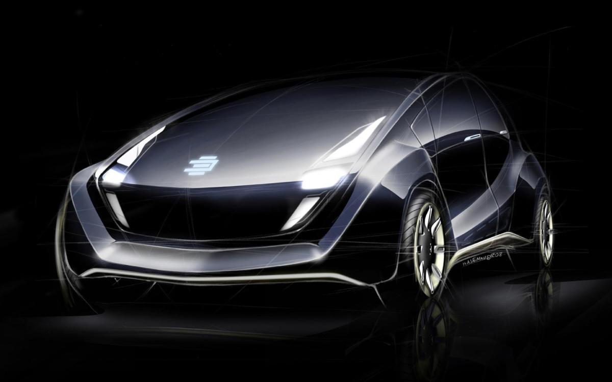 """EDAG  """"Escultura a los vehículos del futuro"""" impresos en 3D"""